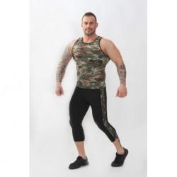 Pantalones Gym Hombre Negro